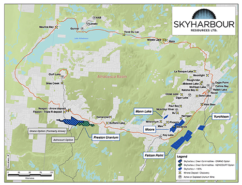 Sky Harbour Canada Map